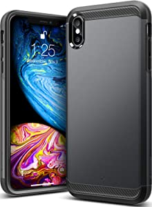 Caseology Legion for iPhone Xs Max Case (2018) - Reinforced Protection - Black