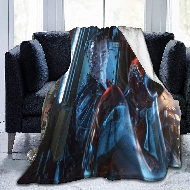 Terminator 2 Judgment Day Throw-Blankets Throw Blankets 3D Printeded Ultra-Soft Micro Fleece Blanket Micro Fleece Blanket Home Decor Warm Anti-Pilling Flannel Throw Blanket 60