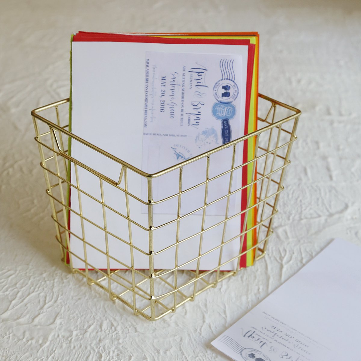 best gifts metal basket storage
