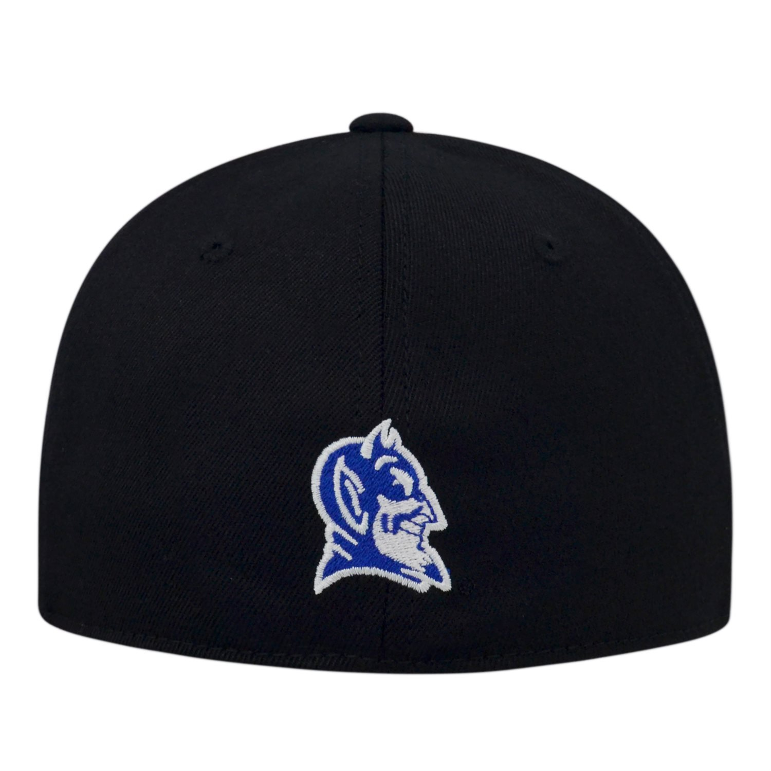 6e5615424 best price duke pinwheel white royal fitted hat by top of the world 6523a  8f418; official store duke blue devils fitted hats c3327 525e2