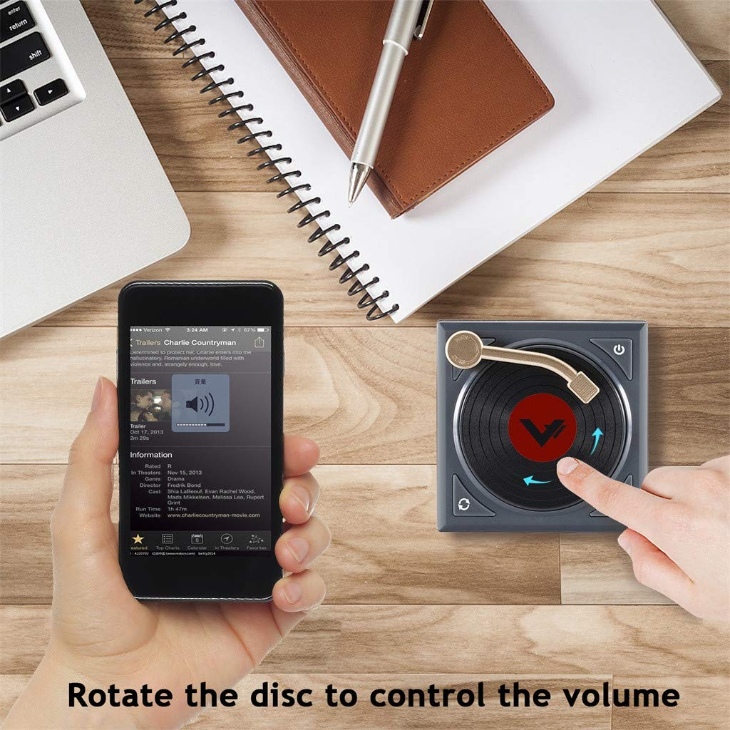 Orcbee Retro - Altavoz Bluetooth portátil H1: Amazon.es: Ropa y ...