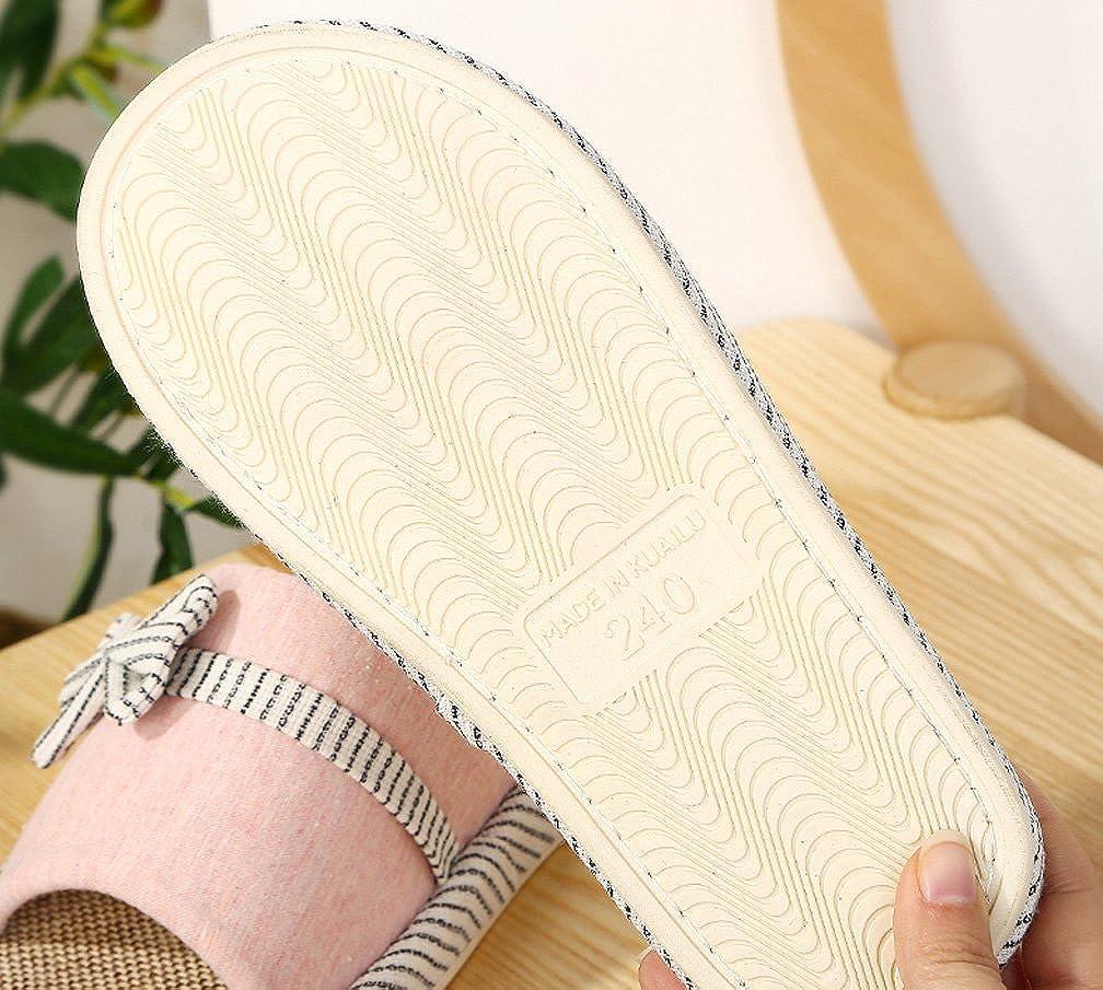 Cattior Mens Summer Comfortable House Open Toe Slippers Indoor Spa Slipper
