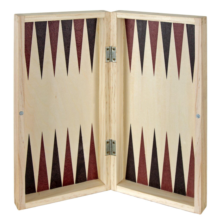 Comprar Aquamarine Games CP1070 - Ajedrez, damas y backgammon en estuche