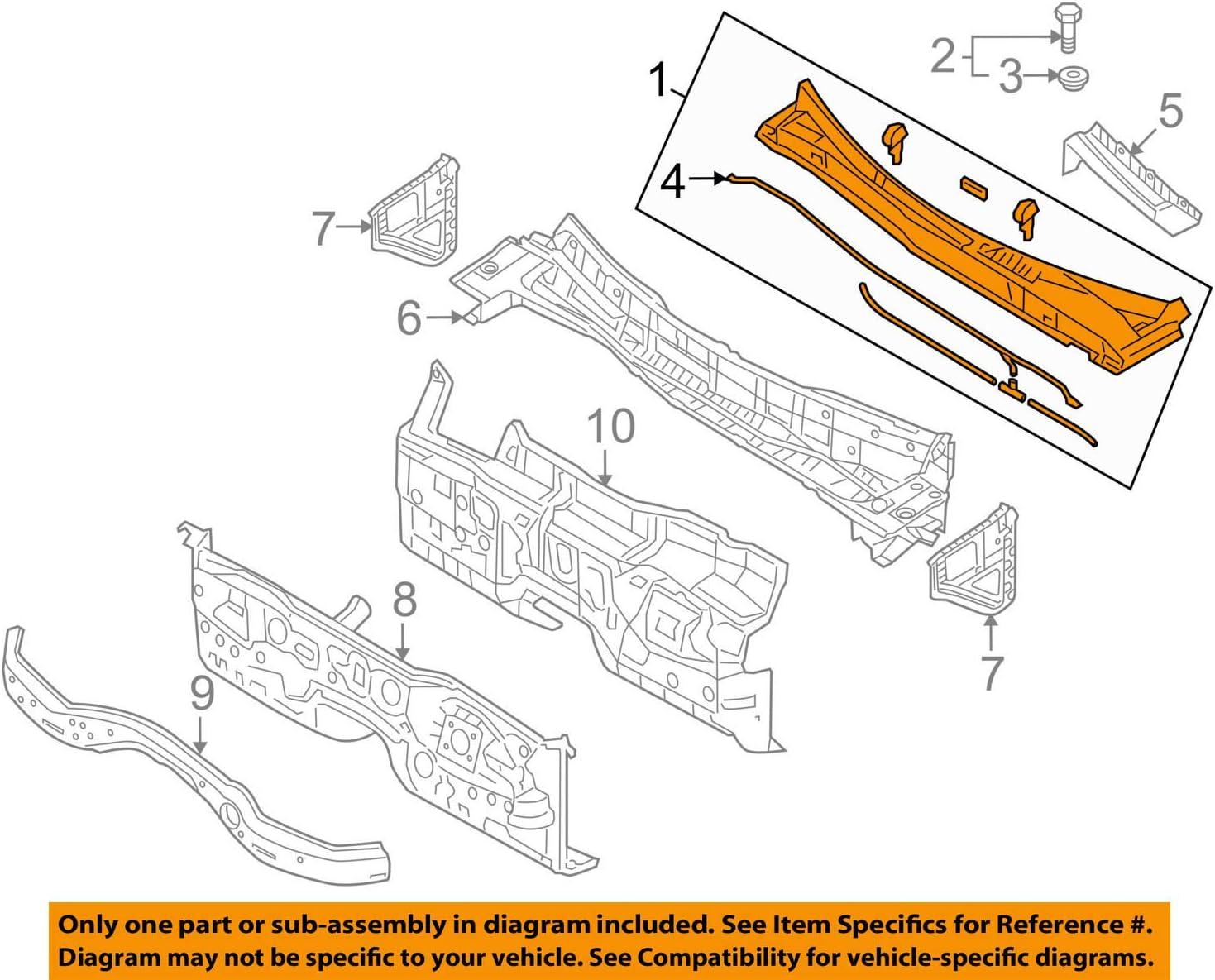 Front Right Genuine Hyundai 88260-4J330-CS6 Seat Cushion Cover