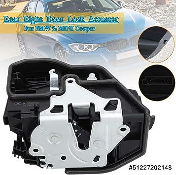 Amazon Com Loovey Rear Right Power Electric Door Lock Actuator For Bmw Mini Cooper E60 E61 51227202148 94506046001 Automotive