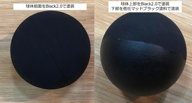 BLACK 2.0 アクリル塗料 マッドブラック 150ml プラモデル つや消し黒 塗装 画材 (日本正規品)