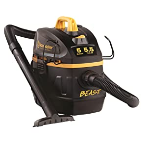Vacmaster Professional Beast Series VFB511B0201 5-Gallon 5.5 Peak HP Wet/Dry Shop Vacuum