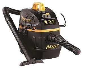 "Vacmaster Professional - Professional Wet/Dry Vac, 5 Gallon, Beast Series, 5.5 HP 1-7/8"" Hose Jobsite Vac (VFB511B0201)"