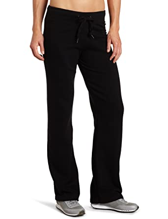 Champion women's fleece open bottom pant