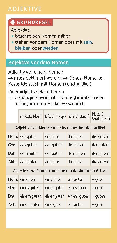 Langenscheidt Go Smart Grammatik Deutsch Fächer Amazonde