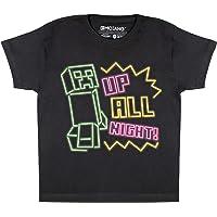 Minecraft Torre Inclinada de Niños de la Enredadera Camiseta, mercancía Oficial   Top Gamer, Gaming Ropa, Idea Regalo…