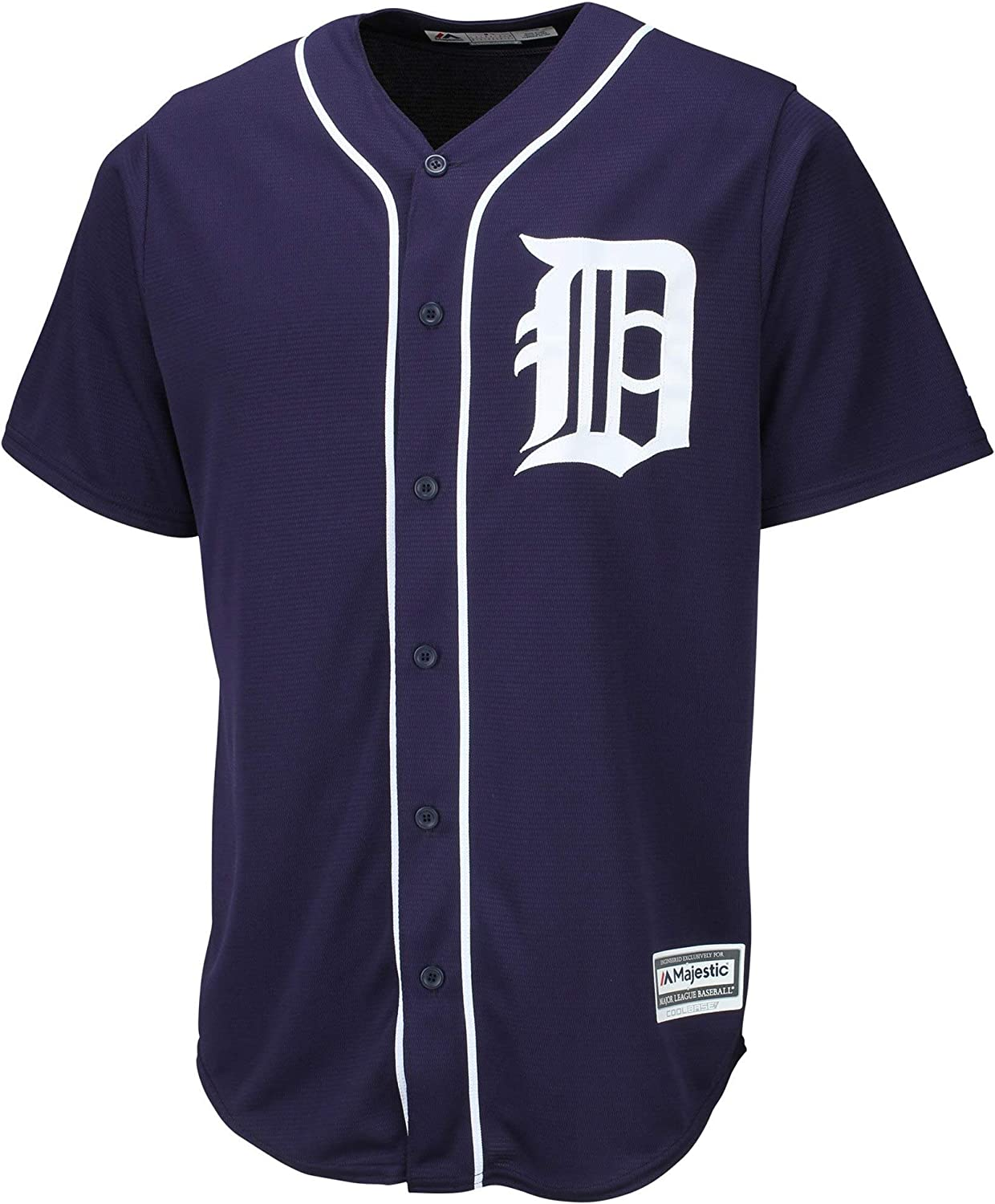 Miguel Cabrera Detroit Tigers #24 Navy Youth 8-20 Alternate Cool Base Player Jersey