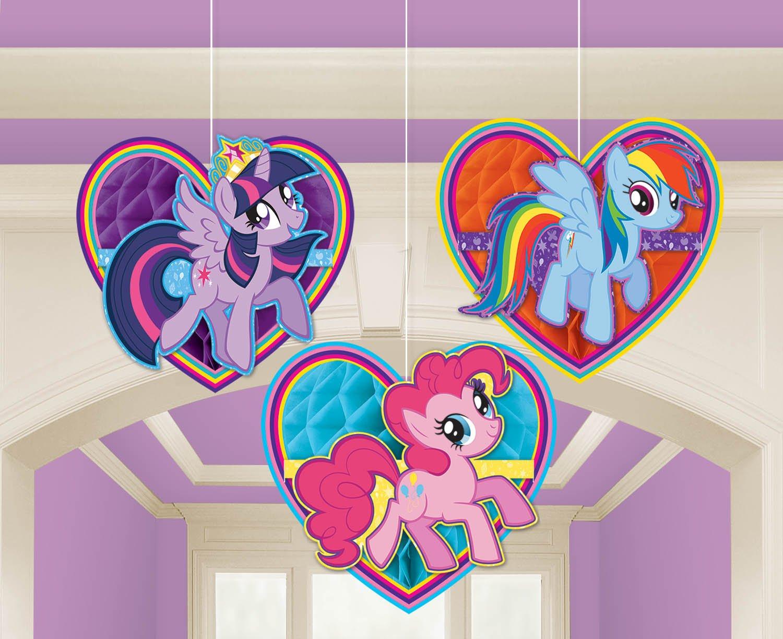Amscan International My Little Pony Happy Birthday Spruchbanner
