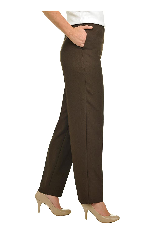 Alia Nygard Womens Petite Pull-On Pant