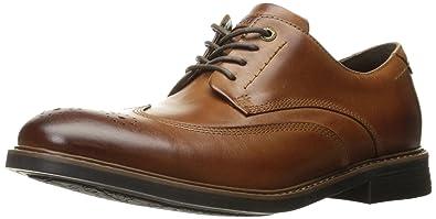 Rockport Men's CB Wing Tip Oxford- Dark Brown ...