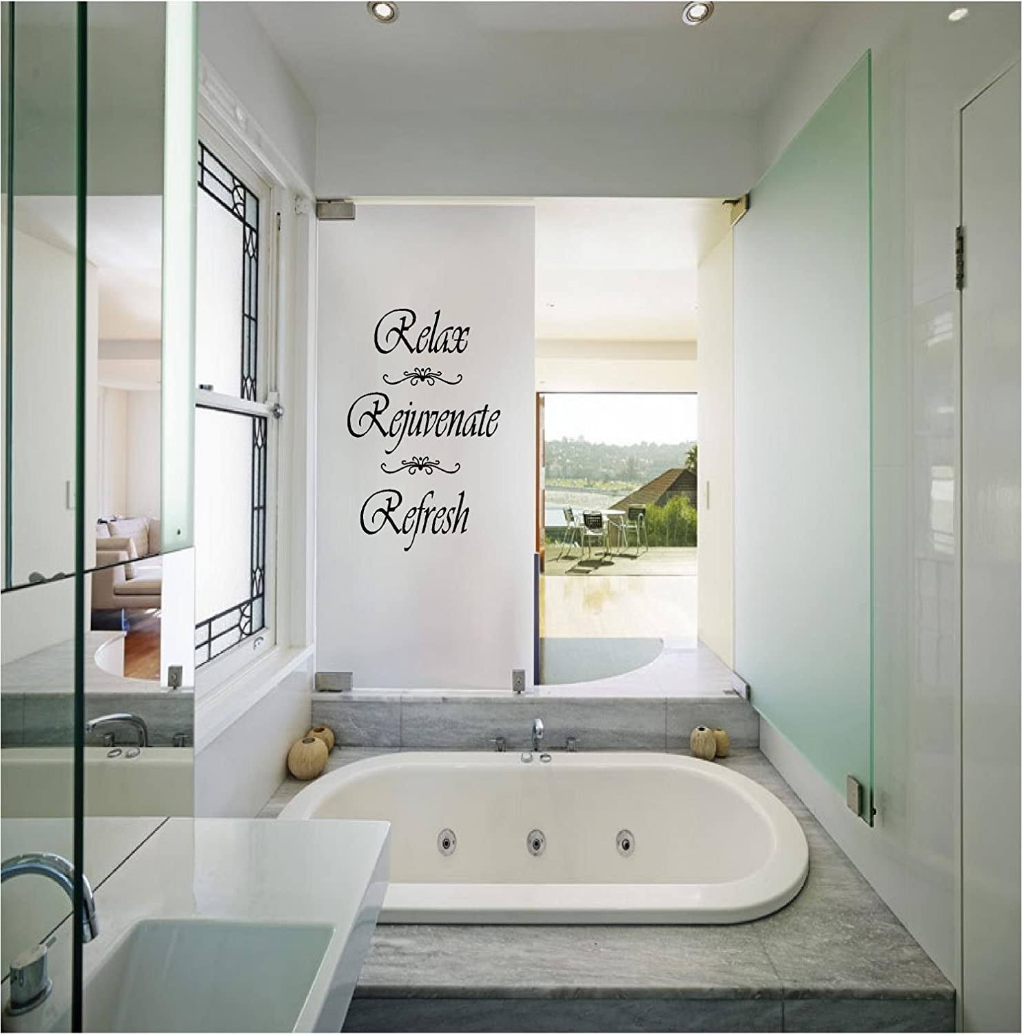 Quote It! - Relax, Rejuvenate, Refresh Wall Decals Quotes