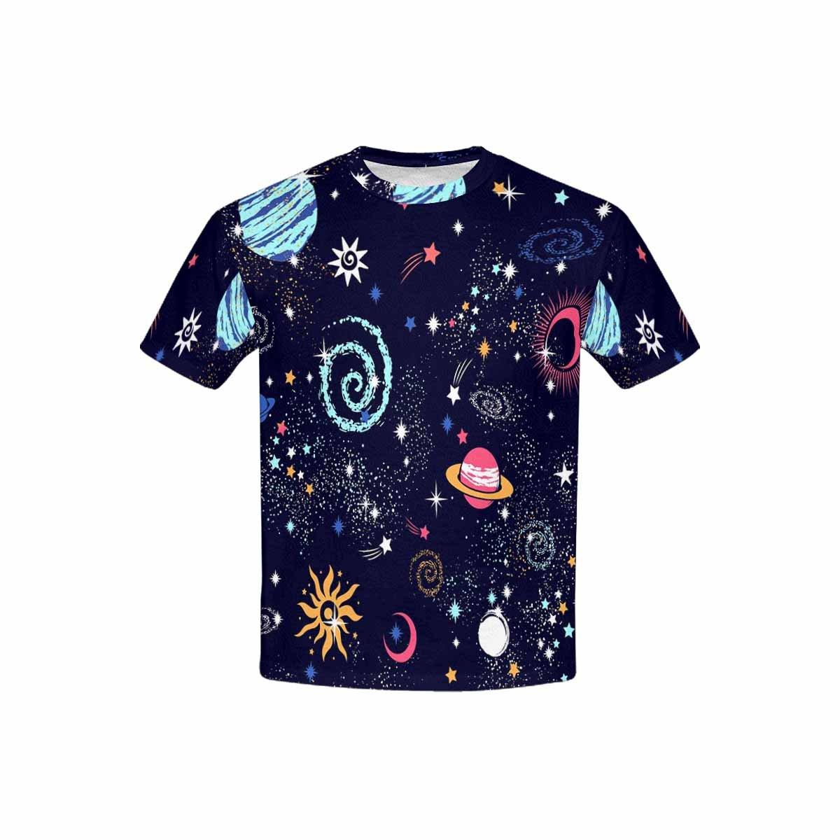 XS-XL INTERESTPRINT Kids T-Shirt Galaxy Pattern Print