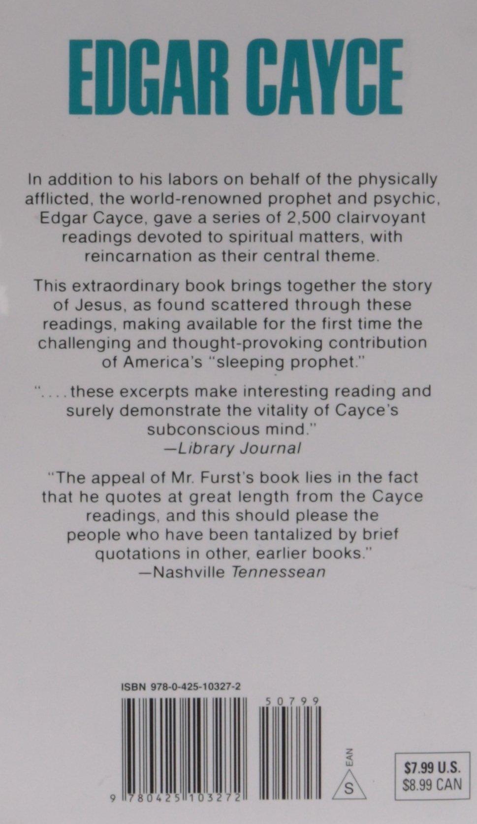 Edgar Cayce's Story of Jesus: Jeffrey Furst: 9780425103272