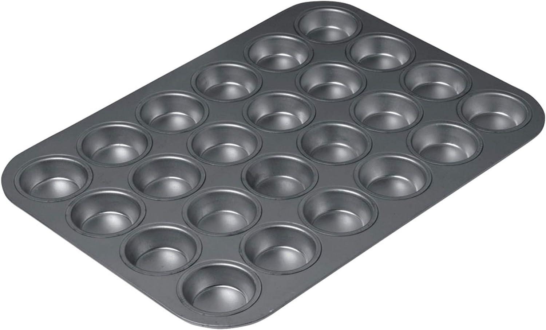 Chicago Metallic 16024 Non Stick 24 Cup Mini Muffin Pan Amazon Ca Home Kitchen