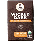 Taza Chocolate Amaze Bar, 95% Stone Ground Organic, Wicked Dark, 2.5 Ounce