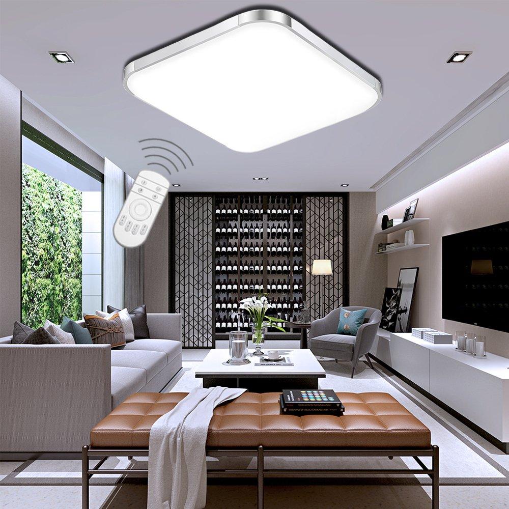 ETiME LED Deckenleuchte Dimmbar 30cm Deckenlampe Modern Wohnzimmer ...