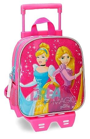 Disney 28720M1 Princess Mochila Infantil, 25 cm, 5.75 Litros, Rosa: Amazon.es: Equipaje