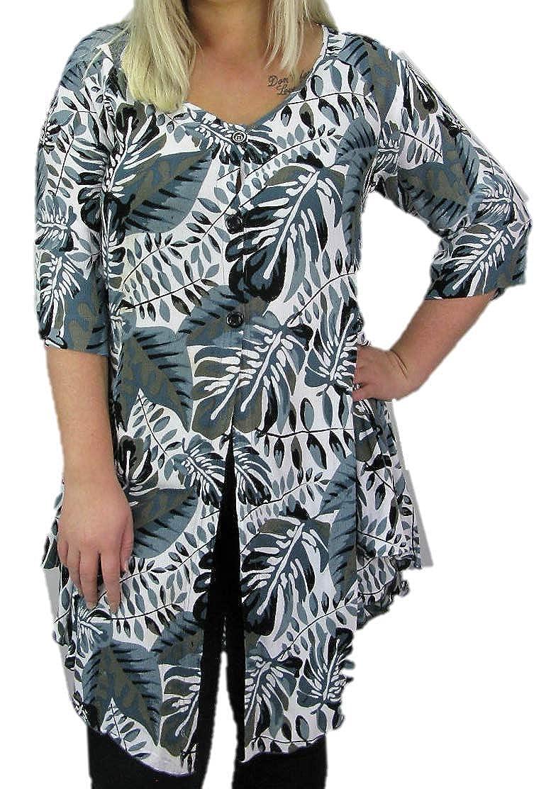 0c36a0729f9f17 hot sale 2019 Luna Serena. Damen. Jacke. Große Größen. Taupe Grau Weiß