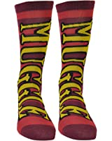 Harry Potter Muggle Striped Red Burgundy Long Socks Size 6 -12 Movie Character