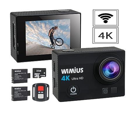 Action Camera Subacquea : Wimius q k sport action camera impermeabile wifi mp p