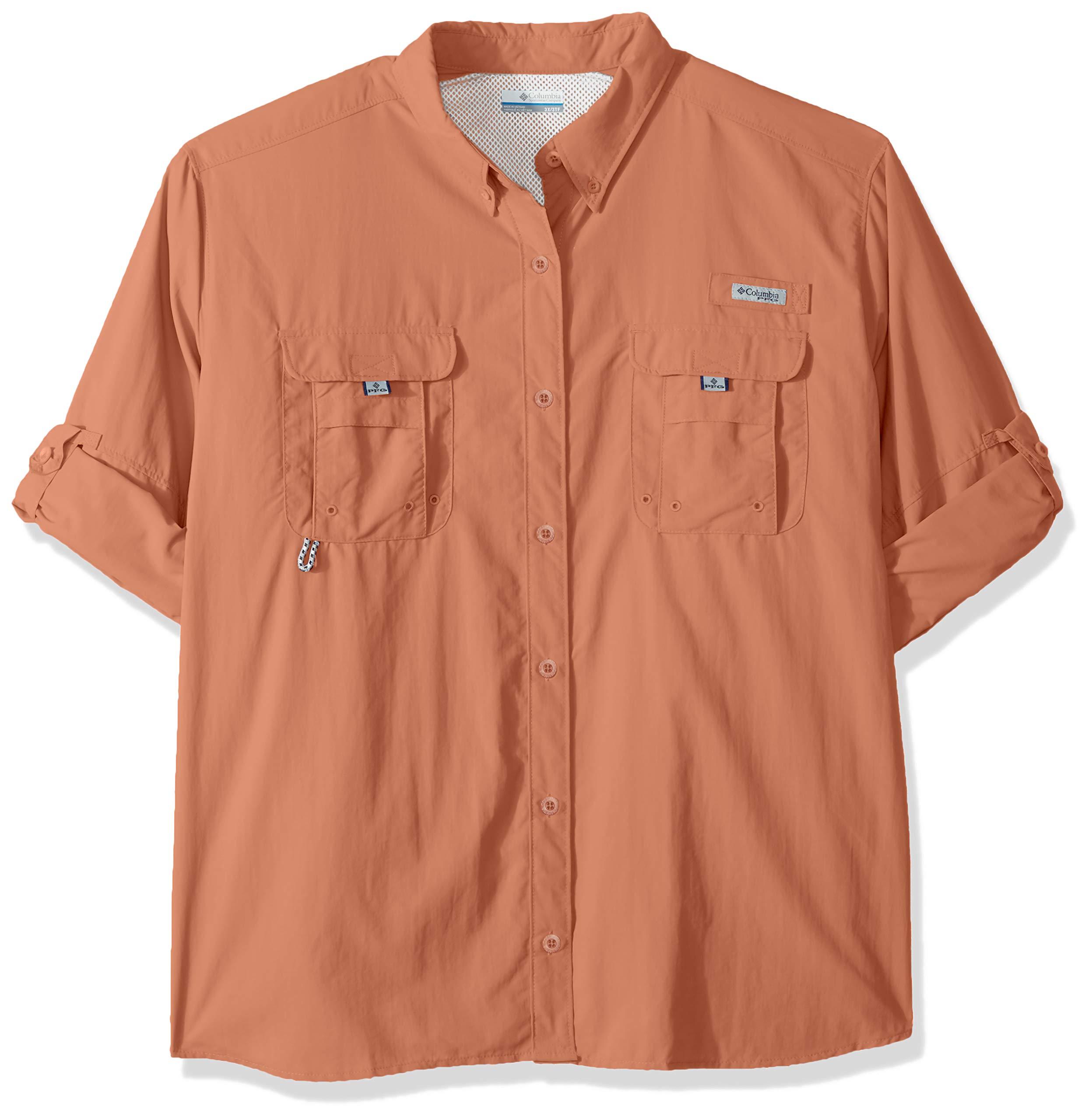 Columbia Women's PFG Bahama II Long Sleeve Shirt, Breathable, UV Protection