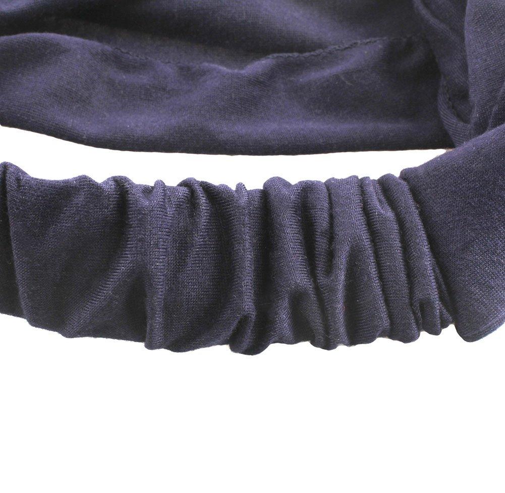 Gespout Diademas Deportiva Bandas Cabeza para Ni/ña Mujeres Banda Pelo Pa/ño Maquillaje Lavado Ba/ño El/ásticas Hairband Yoga Adornos 1pcs 48cm Gris