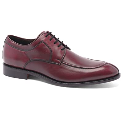 Anthony Veer Wallace Men's Oxford Lace-up Split-Toe Comfortable Leather Dress Shoe | Oxfords
