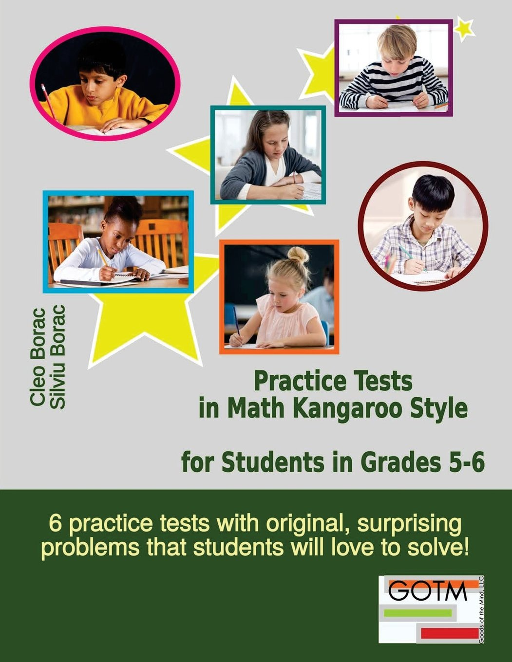 Download Practice Tests in Math Kangaroo Style for Students in Grades 5-6 (Math Challenges for Gifted Students) (Volume 3) pdf epub