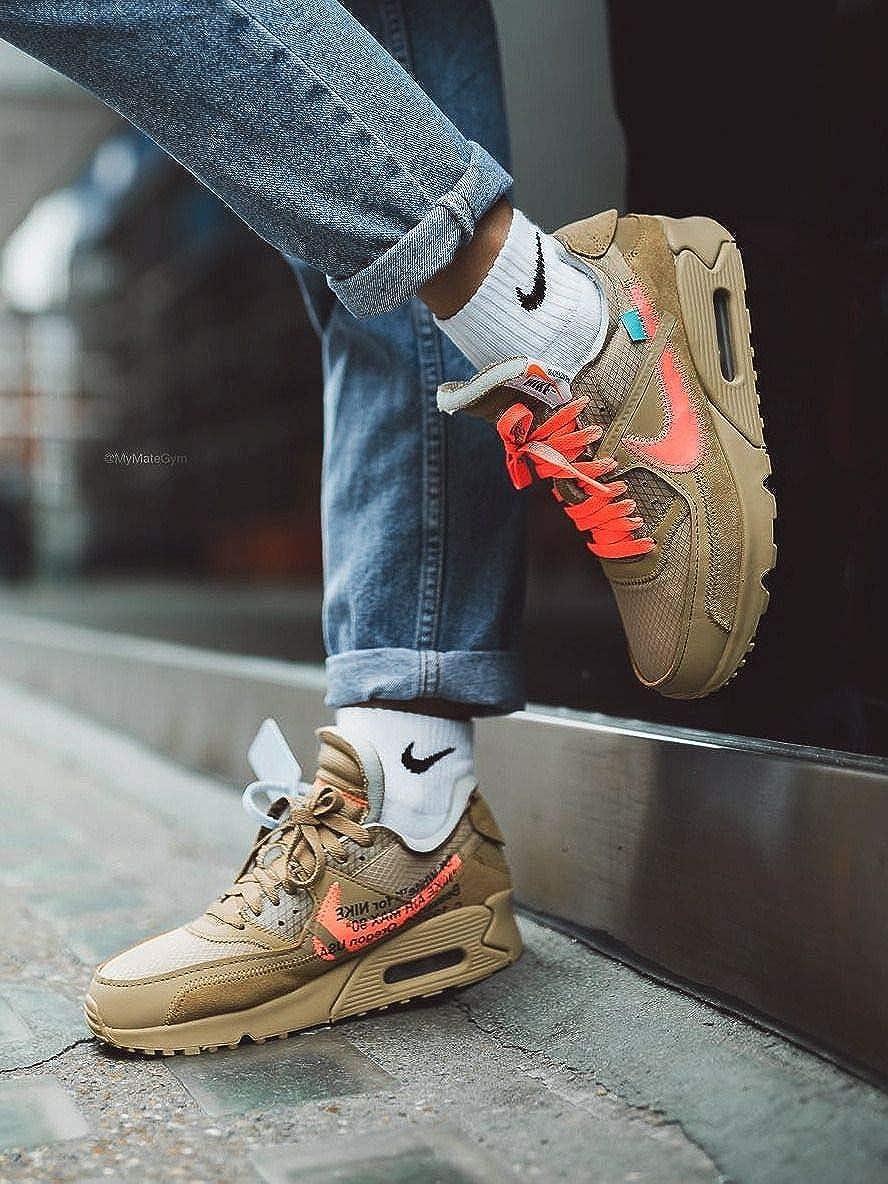 Buy Air Max Men S Brown Shoes 8 5 Uk At Amazon In