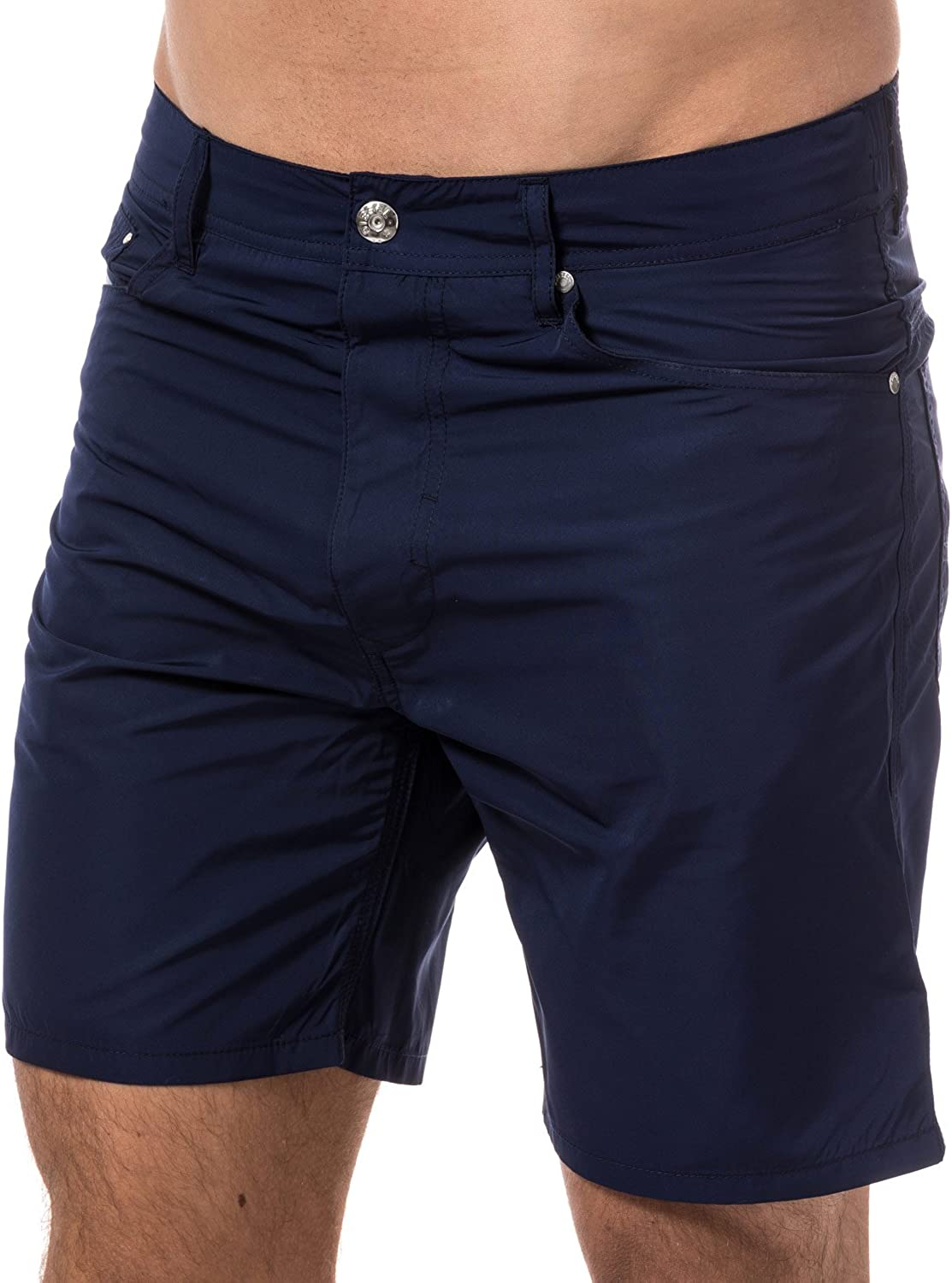 Diesel Men's BMBX-Waykeeki Water Denim Basic Swim Short