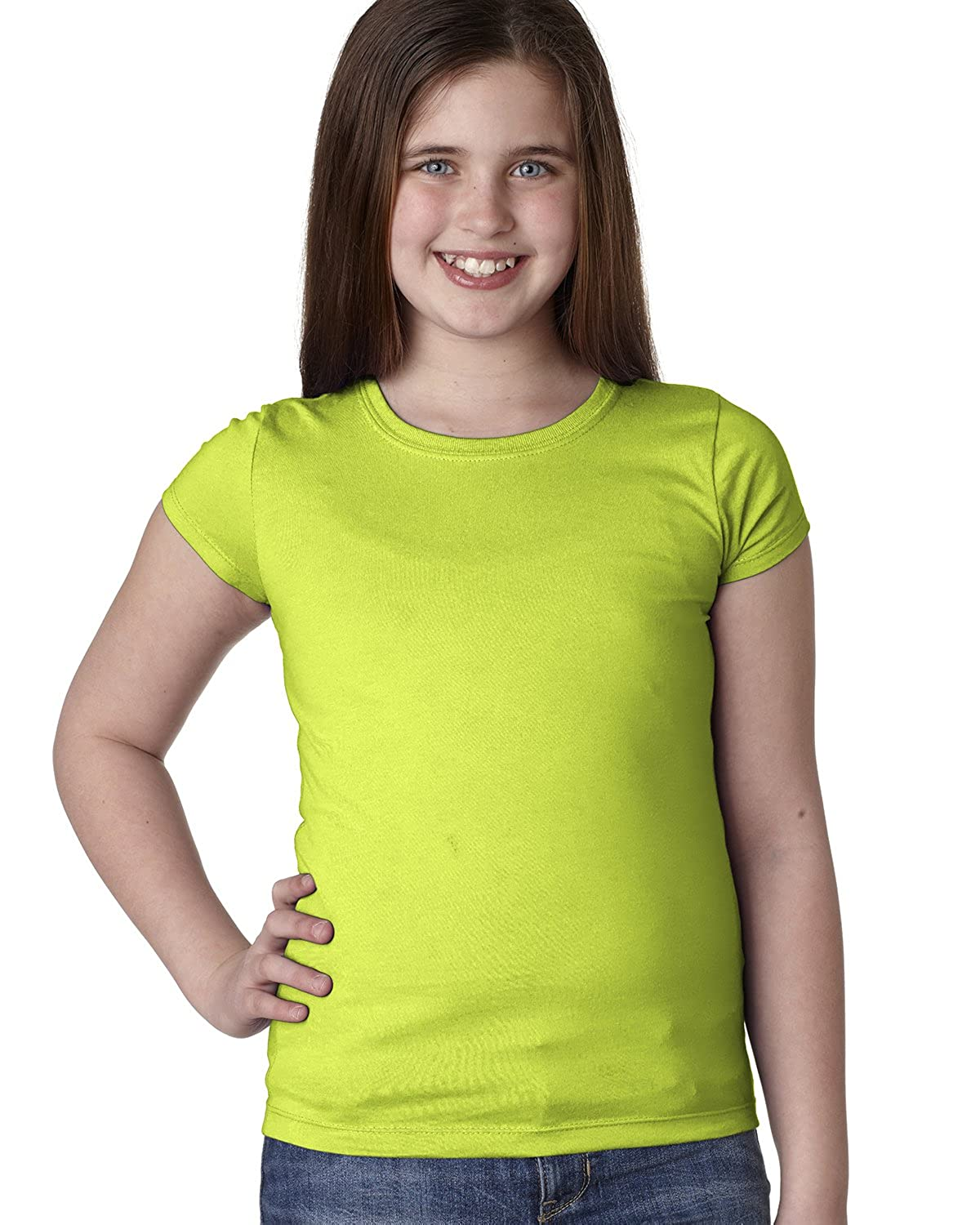 Next Level 3710 Youth Cotton Princess Tee Next Level N3710