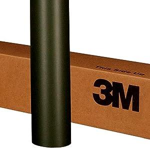 3M 1080 M22 MATTE DEEP BLACK 60in x 24in (10 Sq/ft) Car Wrap Vinyl Film