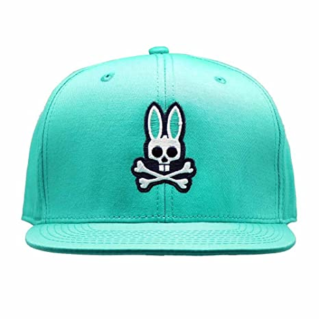 Amazon.com   Psycho Bunny Unisex Adult Everyday Flat Brim Snapback ... de7e392c78b