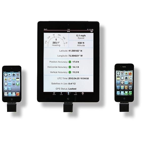 amazon com bad elf gps for dock connector ipad iphone or ipod rh amazon com TomTom Navigation for iPad iPad with GPS Navigation