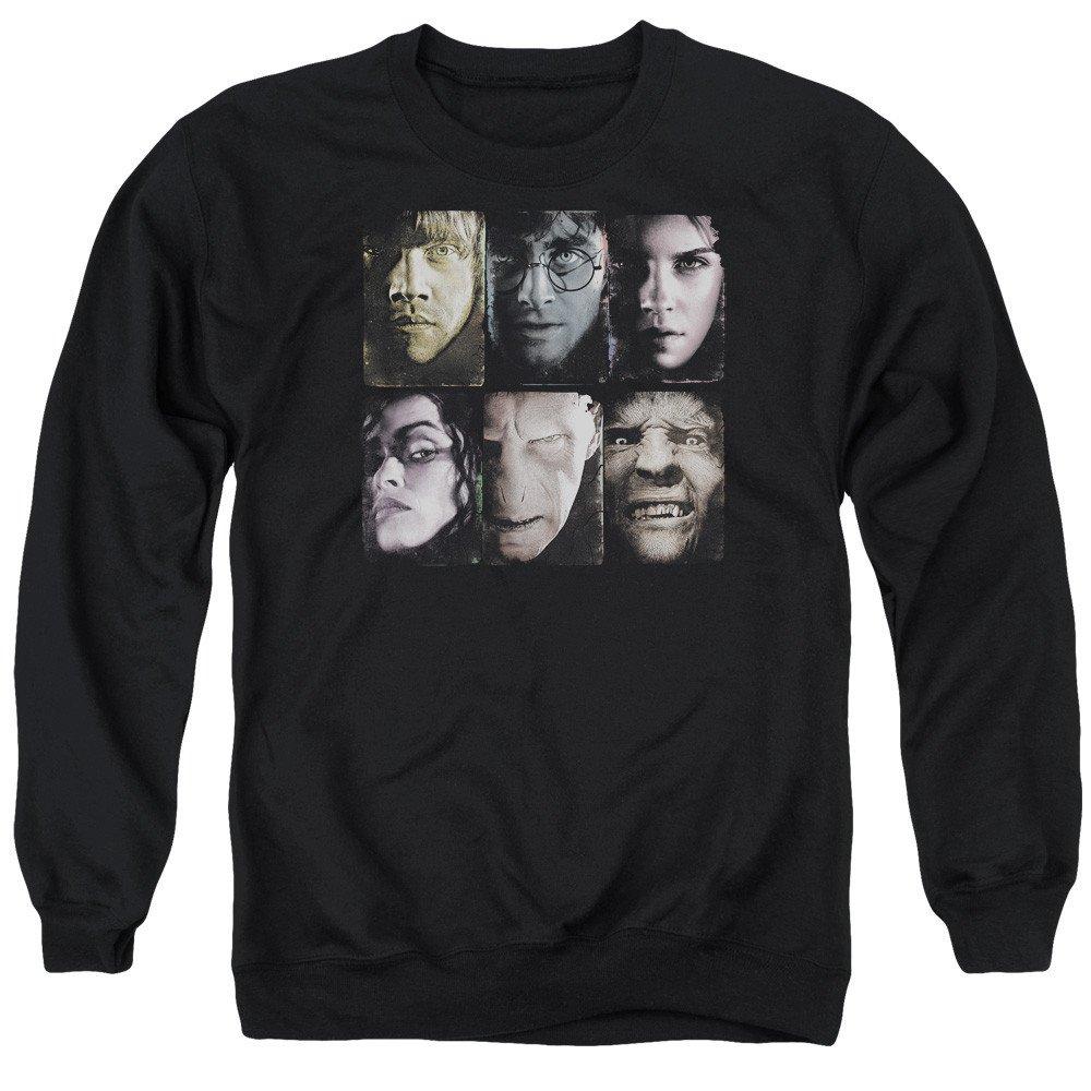 Harry Potter Horizontal Heads Adult Crewneck Sweatshirt