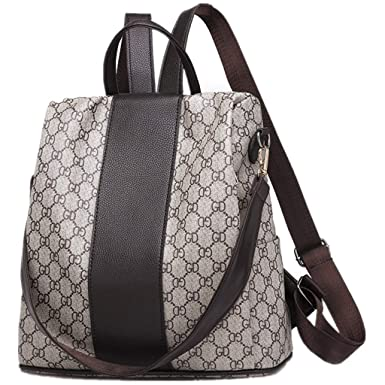 4b2c46d45d GTESCO Backpack Purse for Women Fashion Designer Leather Waterproof  Backpacks