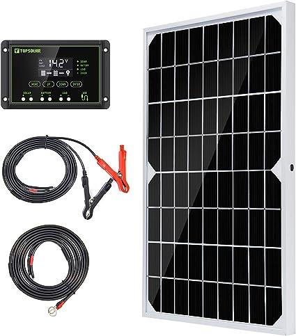 110w Solar panel Solar Module+10A controller for Camping RV Boat Car 12v Battery