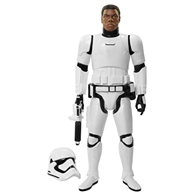 "Star Wars Big Figs Episode VII 18"" Finn In Stormtrooper Gear Action Figure: Toys & Games"