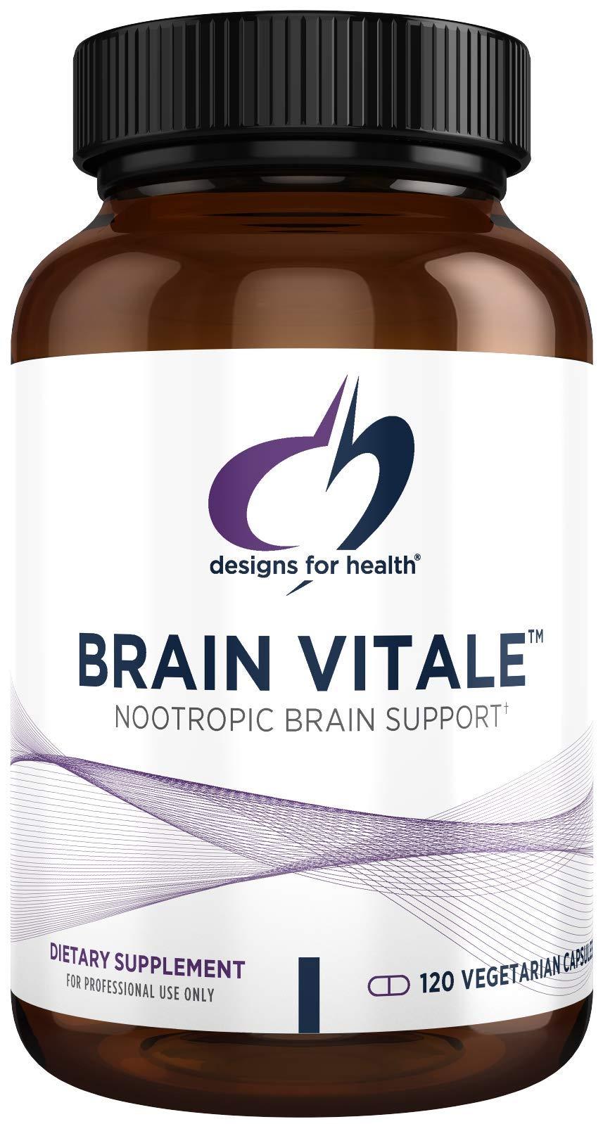 Designs for Health Brain Vitale with Citicoline