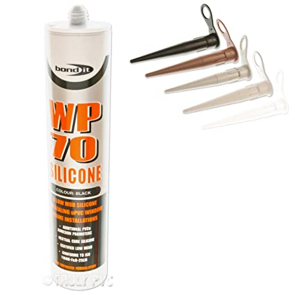 1 x Toffee WP70 External Silicone Sealant Coloured General Purpose