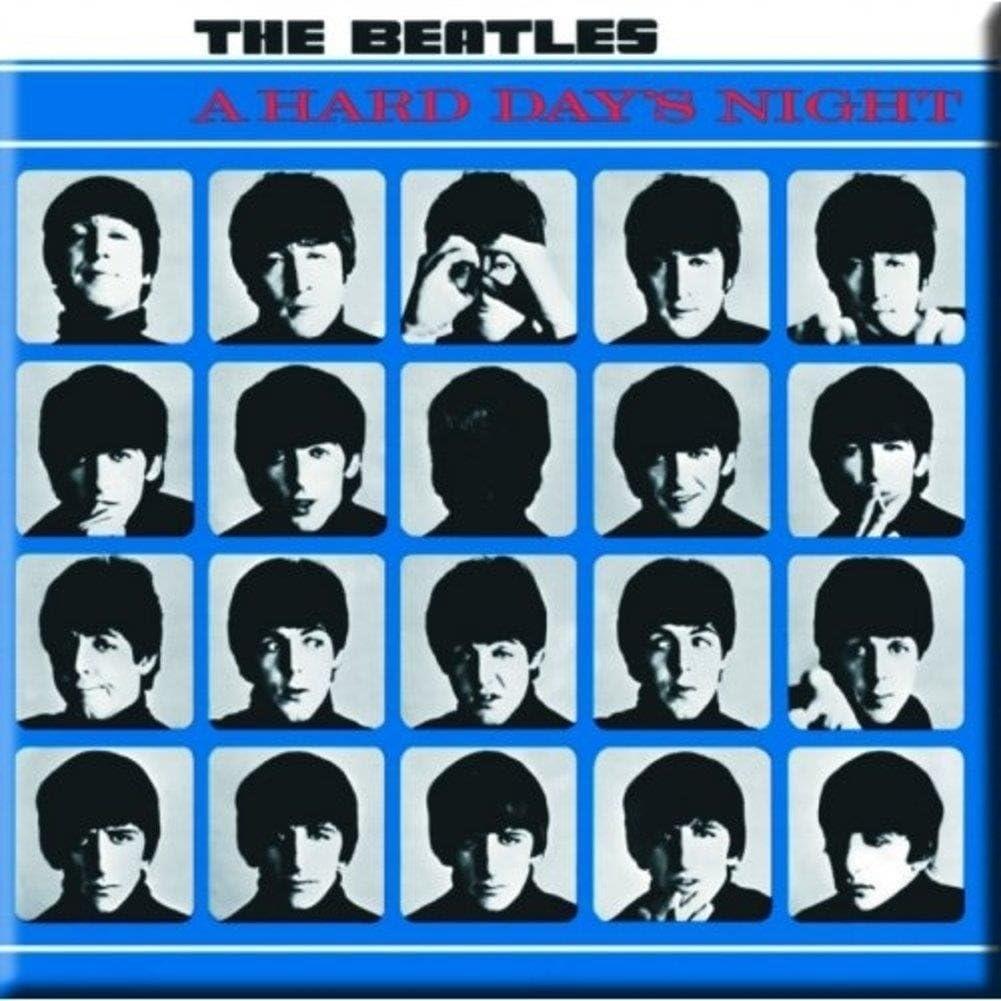 Beatles (The) - Hard Days Night (Magnete) Rock Merchandising Ufficiale: Amazon.es: Hogar