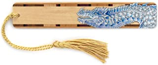 product image for Dragon, Art by Kathleen Barsness - Wooden Bookmark with Tassel - Also Available Personalized