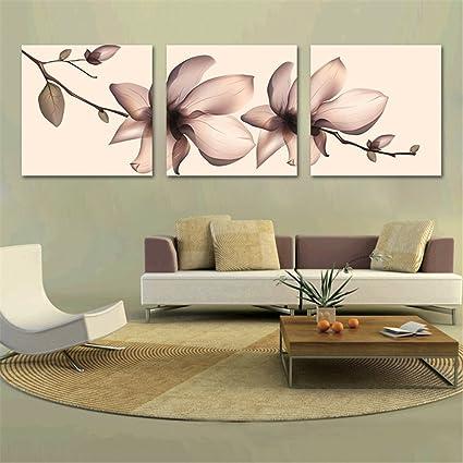 MDARLY Moderno Cuadro de Tríptico Decorativo Pintura para ...