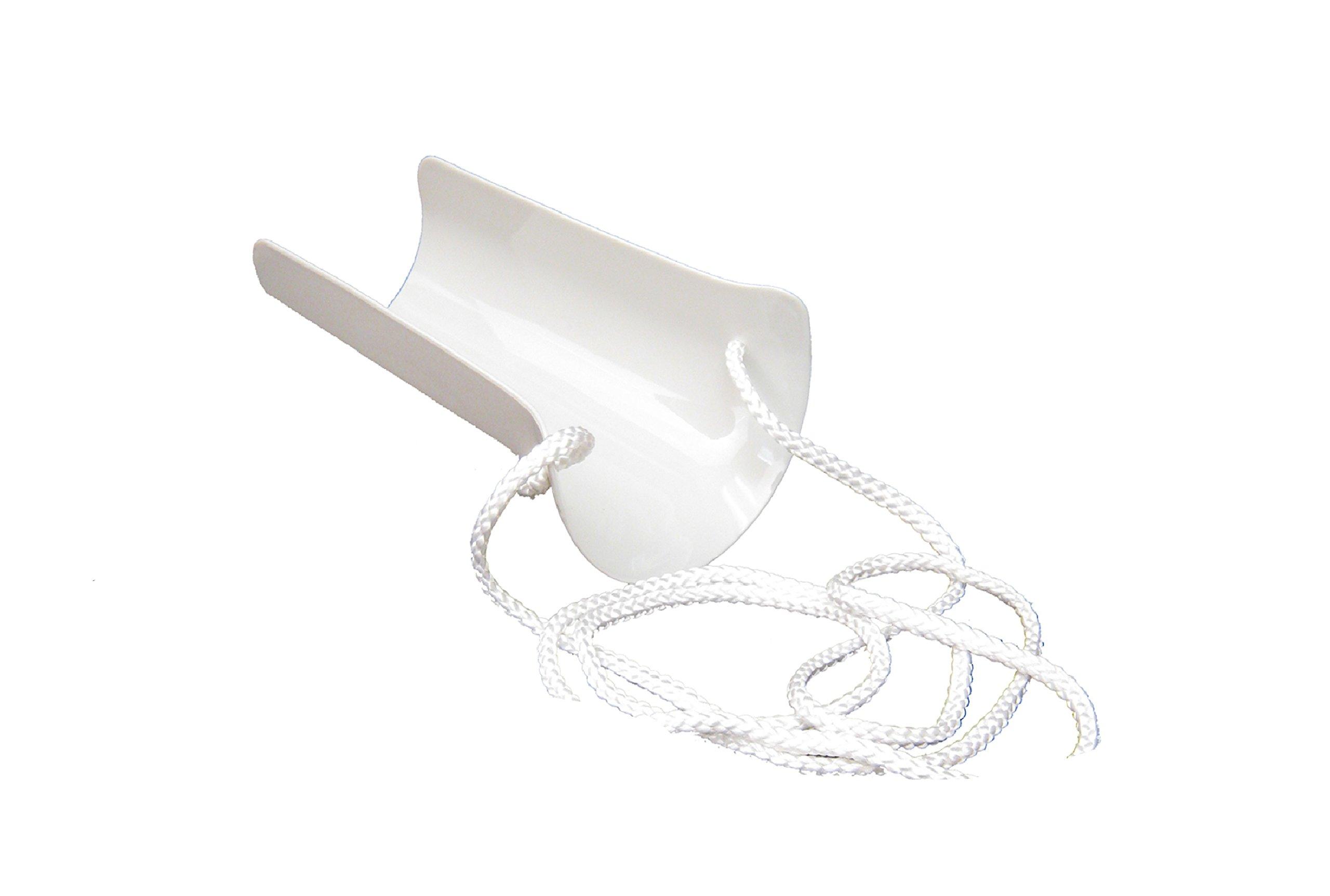 Sock Aid Standard white molded rigid