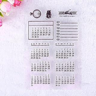 calistouk transparente creativo insignia imagen Sello de goma DIY álbum artesanía scrapbooking decoración